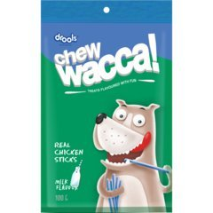 Drools Chewacca Dog Treats Real Chicken Sticks - Milk Flavour