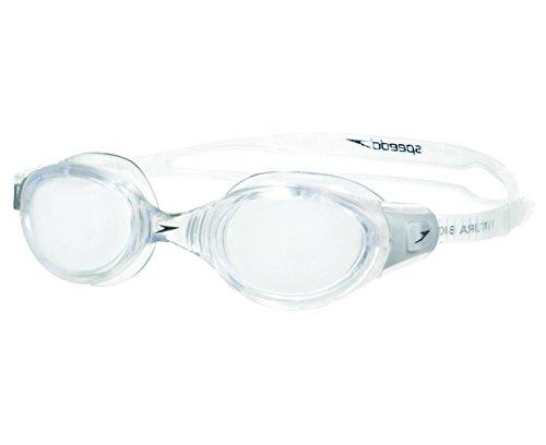 Speedo Futura Biofuse Crystal - Gafas de natación unisex, color transparente