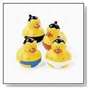 Sumo Wrestler Wrestling Rubber Ducks
