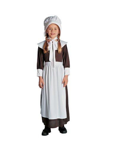 Brown Colonial Girl