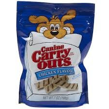 Amazon.com : Canine Carry Outs Chicken Flavor Dog Treats