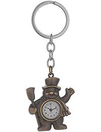 Kairos Designer Magic Broom Watch Key Chain Bronze Clock Keychain (KC-MagicBroom-Watch )