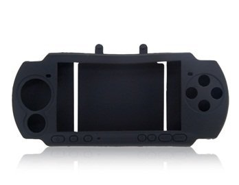 Silicone Case For Psp Game Console (Black)