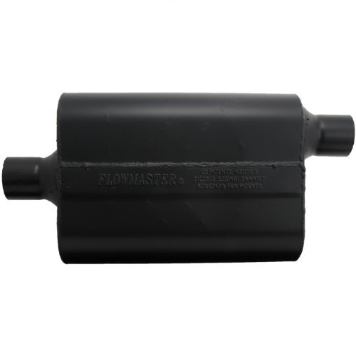 Flowmaster 942447 Super 44 Muffler – 2.25 Center IN / 2.25 Offset OUT – Aggressive Sound