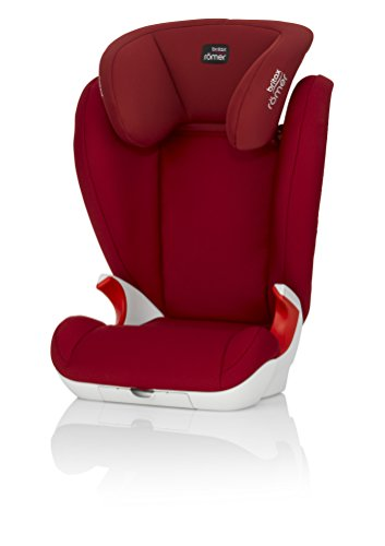 Romer KID II - Silla de coche, color rojo