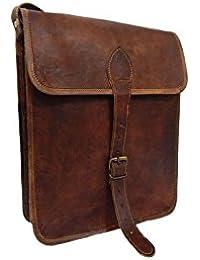 Pranjals House 13 Inch Genuine Leather Sling Messenger Bag
