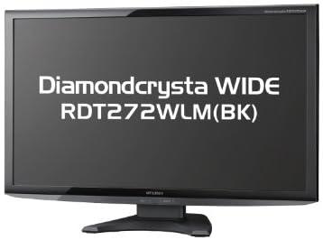 MITSUBISHI 27型ワイド三菱液晶ディスプレイ RDT272WLM(BK)