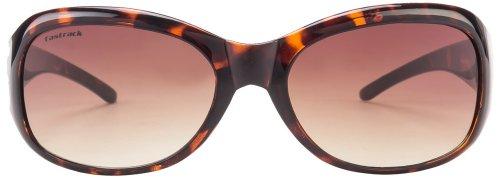 Fastrack Oval Sunglasses (Tortoise Brown) (P186BR1F)
