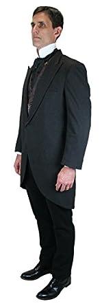 1920s Mens Coats & Jackets History Traditional Cutaway Coat $165.95 AT vintagedancer.com