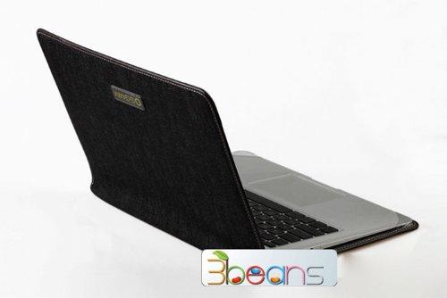 「全2サイズ」MacBook Air 11インチ 用ケース ジーンズ ブラック (936-1)