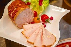 食のかけはし)国産鶏 むねハム(スライス) 500g
