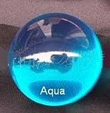 Aqua Blue Acrylic Contact Juggling Ball - 70mm