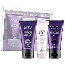 Alterna Caviar Hair Replenishing Moisture Trio: Shampoo, Con