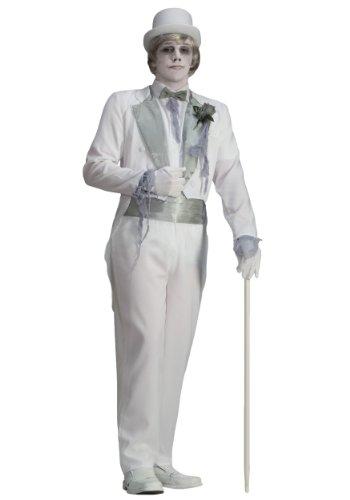 Men's Ghost Groom Costume