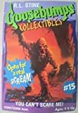 R.L. Stine Goosebumps Collectibles Mud Monster #15 You Can't Scare Me!