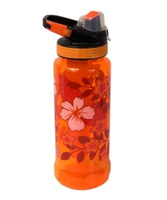 Cool Gear Tritan 32 Oz Rigid Ez-freeze Water Bottle With Yukon Chugger Cap And Clip. Non-toxic Gel Filled Freezer...
