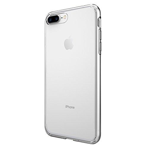 Coque iPhone 7 plus, Spigen® [Liquid Crystal] Ultra Mince [Crystal Clear] Premium Semi-transparent / Exact Fit / NO Bulkiness Soft Housse Etui Coque P...