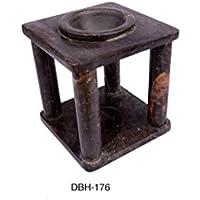 Designed By Heart Aroma Lamp/Oil Burner, Brown