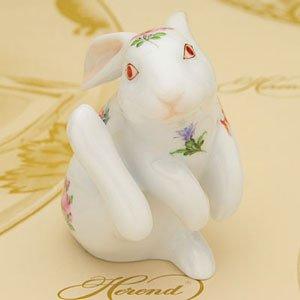 HEREND(ヘレンド) MF(ミルフルール・1,000の花) (015387)耳掻き兎(L) (並行輸入品)