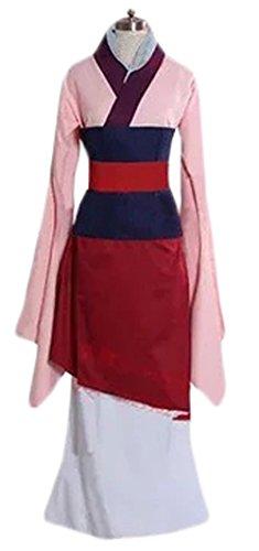 Halloween 2017 Disney Costumes Plus Size & Standard Women's Costume Characters - Women's Costume Characters Women's Halloween Deluxe Mulan Costume Dress Standard & Plus Size - Small through 3X