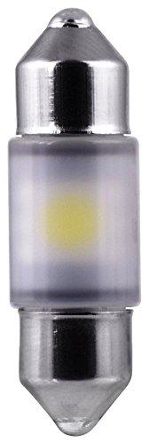 Philips 30mm festoon Bright White Interior Vision LED light (Pack of 1)