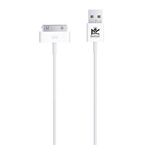 【Roiciel】iphone4/4s/ipad対応高品質30pin Lightning - USBケーブル (1.0m)(株)Roiciel 品質保障致します
