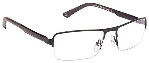 John Jacobs JJ 0030 Matte Black Grey 1050 Eyeglasses(100614)