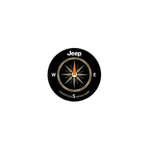 Mopar 82210884AB Jeep Spare Tire Cover