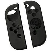 Alcoa Prime 1 Pair Protective Anti-Slip Case Cover For Nintendo Switch Controller Black