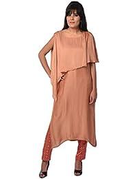 Shabana Khan Women's Cotton Satin Salwar Suit Set
