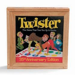 Click to buy the Nostalgia Twister game from Amazon!