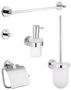 ... , Set di accessori da bagno, 5 pezzi - 40439000: Amazon.it: Fai da te