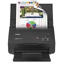 Document Scanner, High Speed, 25ppm, 50Sht Cap, Black, Sold As 1 Each