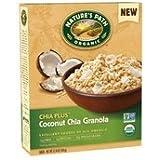Natures Path Cereal, Coconut Chia Granola, Chia Plus, 12.34 Oz, Pack Of 6