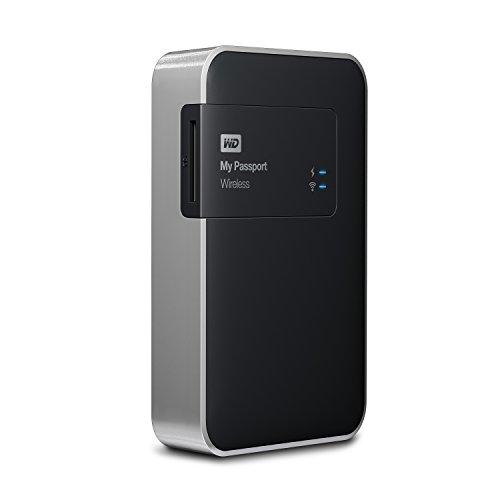 WD My Passport Wireless 2 TB Wi-Fi Mobile Storage (WDBDAF0020BBK-EESN)