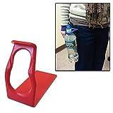 HIP-Clip Bottle Holder For Standard-Size Bottles, Red, 1-Pack