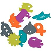 Toy / Game Awesome Boon Bath Tub Appliques, Dive With Ten Unique Appliques In Five Colors And Phthalate-free