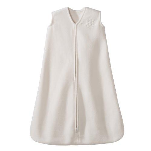 HALO SleepSack Micro-Fleece Wearable Blanket, Cream, Medium