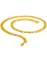 Voylla Men's Stainless Steel Curb Chain For Men From Dare By Voylla