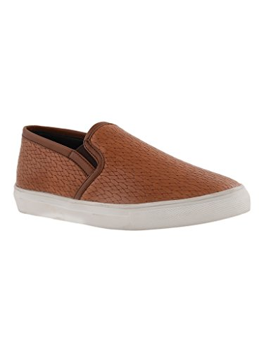 Bruno Manetti Women Tan Synthetic Casual Shoes