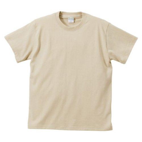 (ユナイテッドアスレ)UnitedAthle 5.6オンス ハイクオリティー Tシャツ 500101 53 ライトベージュ M