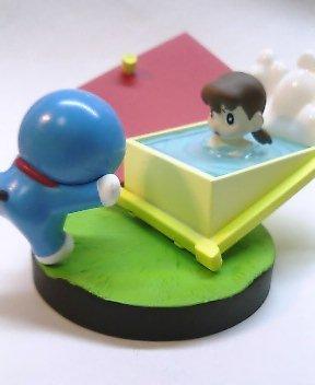 「お風呂大好き、しずかちゃん」 コミックテイストフィギュア さようならドラえもん編
