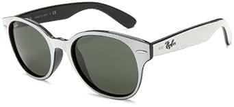 Amazon.com: Ray-Ban RB4141 Round Wayfarer Sunglasses,White