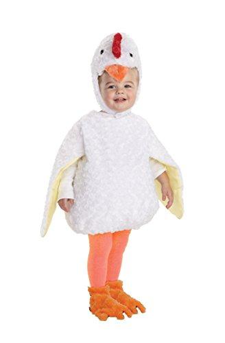 Underwraps Baby's Chicken Belly-Babies, White, Medium