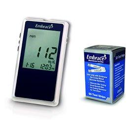 Amazon.com: Embrace Diabetes Meter Kit Combo (Meter Kit