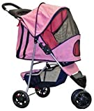 Pink Pampered Pet Stroller & Jogger for Small Dogs and Cats