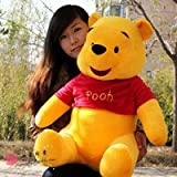 UNIQUEGIFTS2015 28 Inch Big Large Jumbo Pooh Plush Soft Stuffed Toy From Winnie The Pooh Cartoon Character