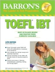 Barrons TOEFL iBT 13th Edition CD, Book, Pdf Free Download