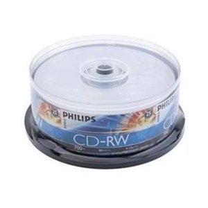 300 Philips CD-RW 4X-12X 80Min 700MB Philips Logo On Top