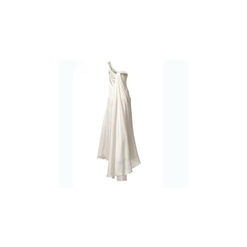 HEINE Asymmetrisches Brautkleid Hochzeitskleid in creme 17, Gr